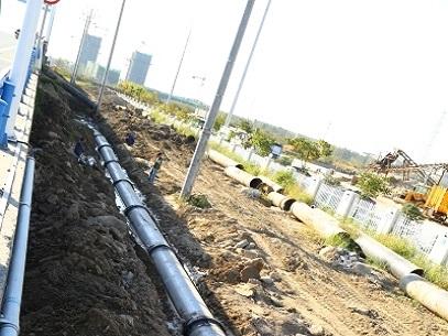 1437/Ứng dụng thành công ống kéo gang cầu DN800 của Xinxing