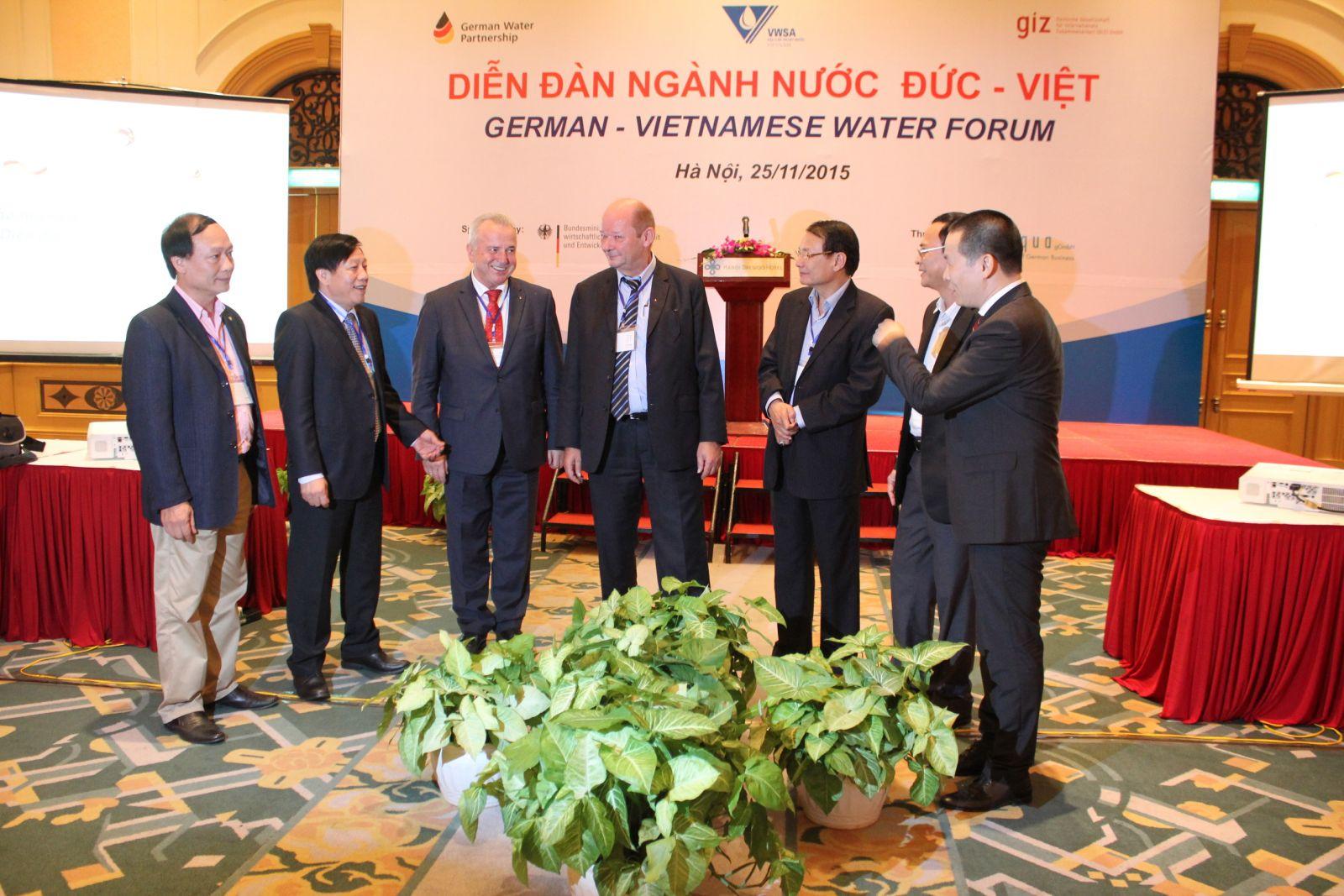 Diễn đàn ngành nước Đức - Việt (25.11.2015)