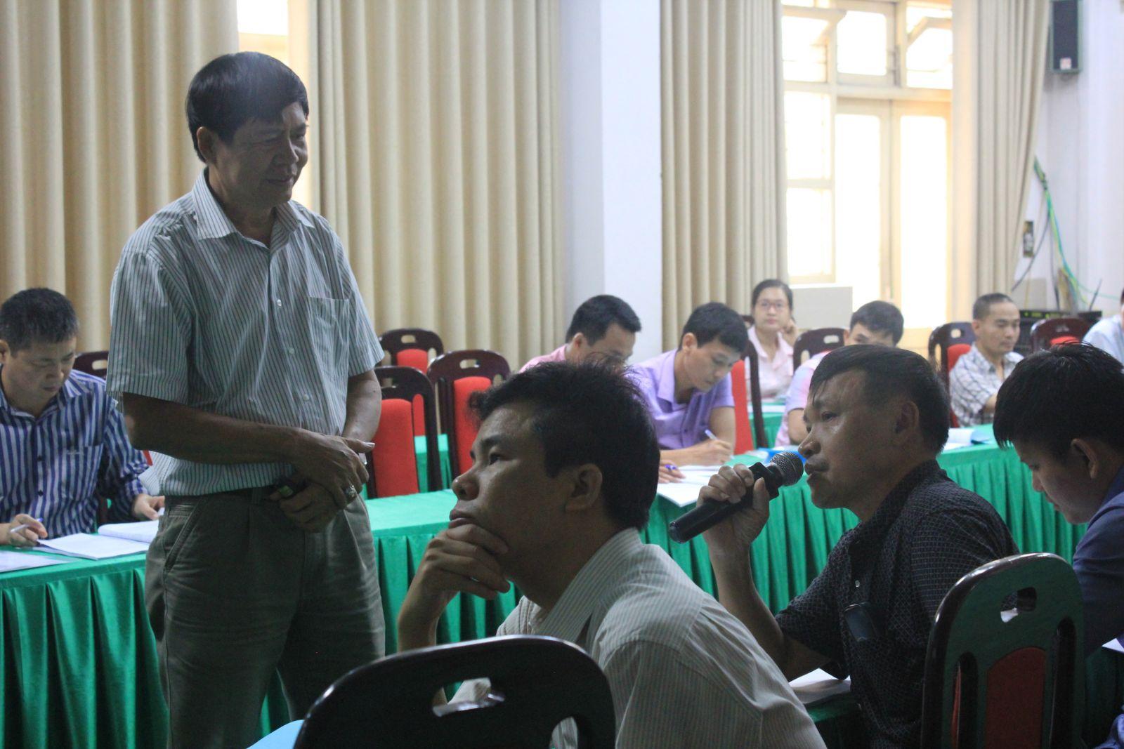 Lớp Huấn luyện An toàn vệ sinh lao động (7.2016)