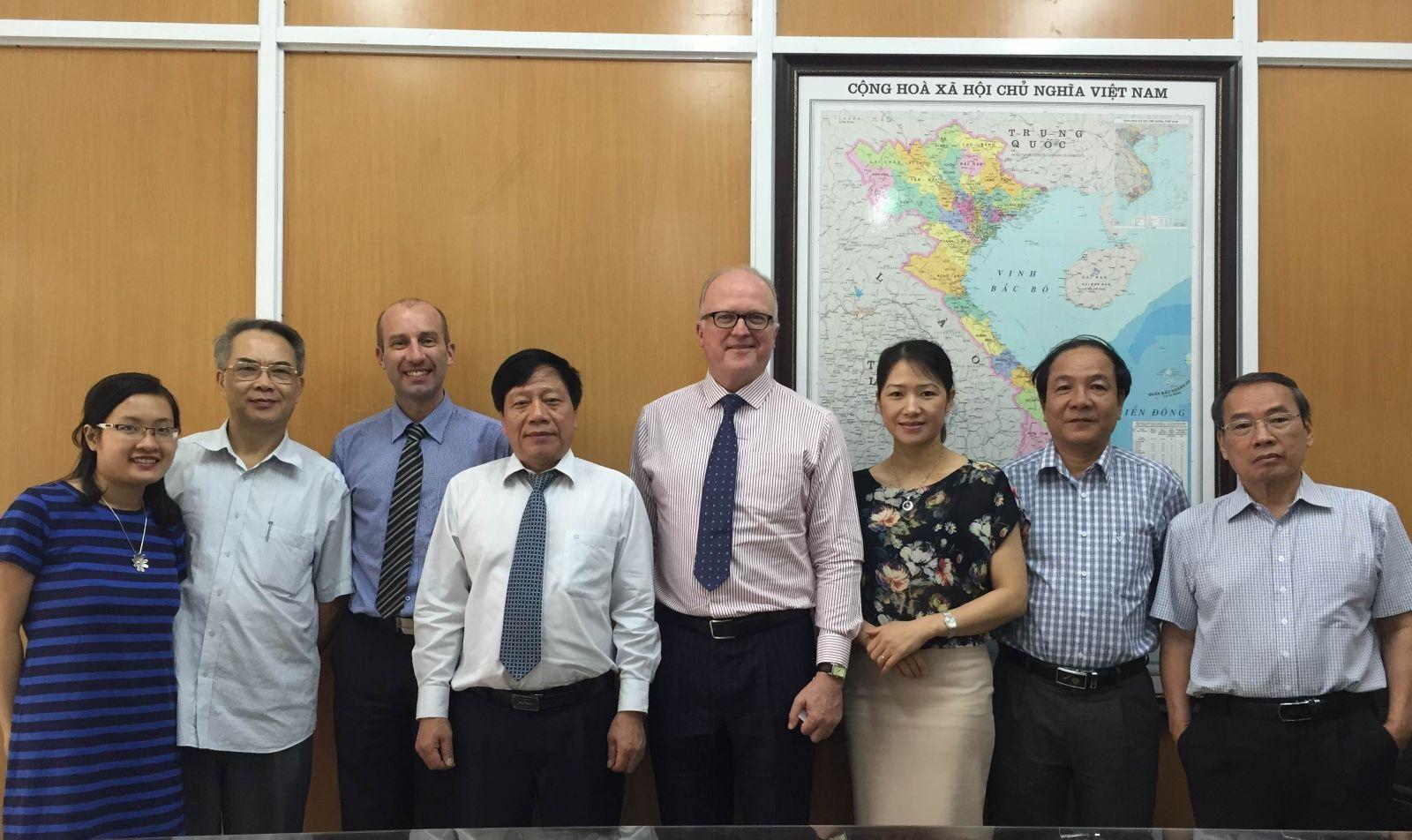 Lễ ký kết biên bản ghi nhớ hợp tác giữa hai hội nước Australia và Việt Nam (16.1.2015)