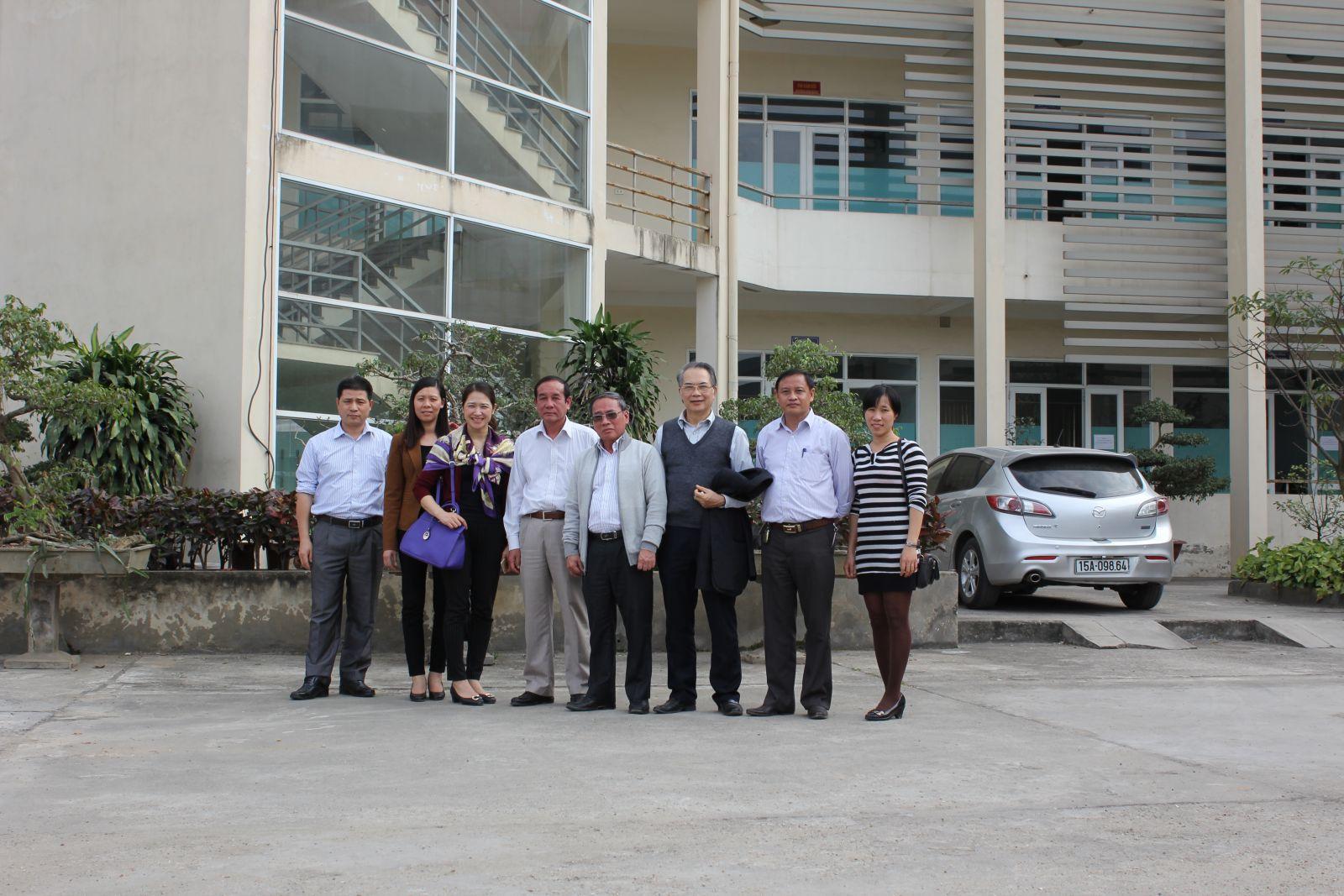 VWSA thăm công trình Nhà máy của Công ty Thoát nước & Phát triển HTĐT Thái Nguyên (28.1.2015)