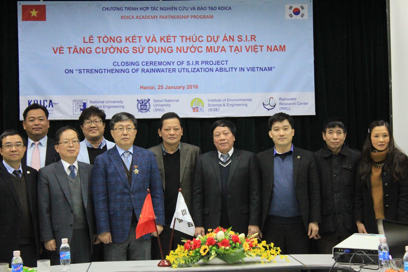Tổng kết Dự án S.I.R (25.1.2016)