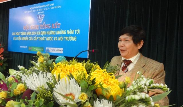 578/Viện Nghiên cứu Cấp thoát nước & Môi trường tổ chức Hội nghị tổng kết năm 2014