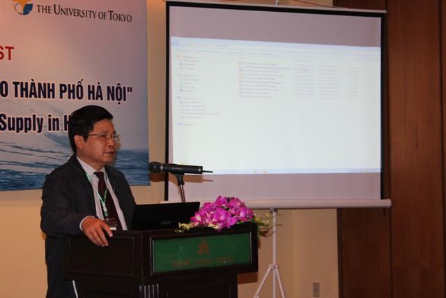 579/Nguồn nước và vấn đề cấp nước cho TP.Hà Nội