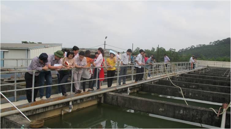 584/Nước sạch Quảng Ninh: Tập huấn, đào tạo nghiệp vụ về xử lý nước cấp