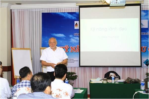 585/Khóa đào tạo nâng cao năng lực quản lý cho các công ty Cấp thoát nước Khu vực Miền Trung - Tây Nguyên