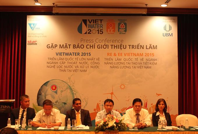 602/Vietwater 2015 - Triển lãm quốc tế hàng đầu về ngành cấp thoát nước, công nghệ lọc nước và xử lý nước thải tại Việt Nam