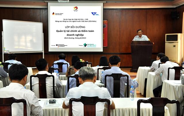 """603/Tập huấn """"Quản lý tài chính và kiểm toán doanh nghiệp"""" cho các hội viên khu vực phía Nam"""