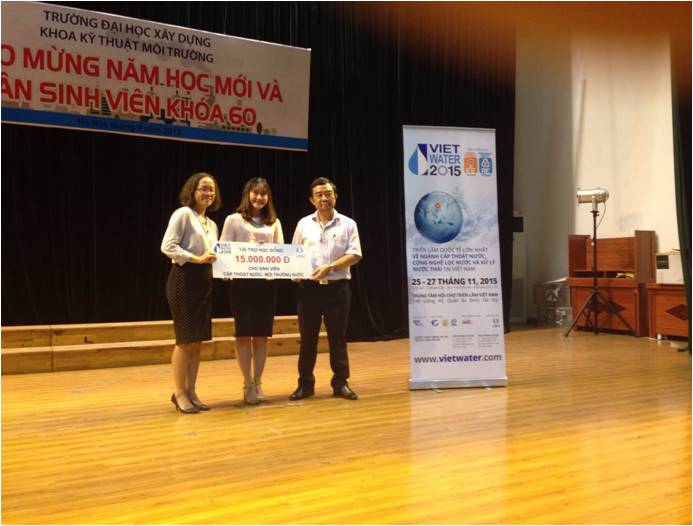 605/VIETWATER 2015 vì sự phát triển bền vững ngành nước Việt Nam