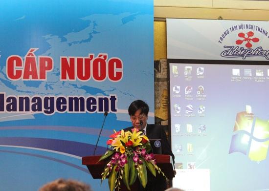 607/Hội thảo về Công nghệ và quản lý cấp nước
