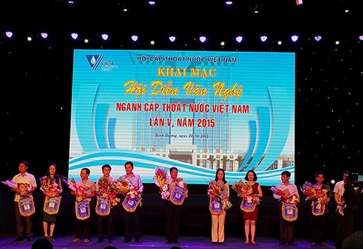 610/Kết quả Hội diễn văn nghệ ngành Cấp thoát nước Việt Nam lần thứ V - 2015