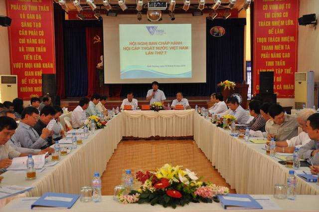 612/Đại hội đại biểu toàn quốc lần thứ V của Hội Cấp thoát nước Việt Nam thành công tốt đẹp