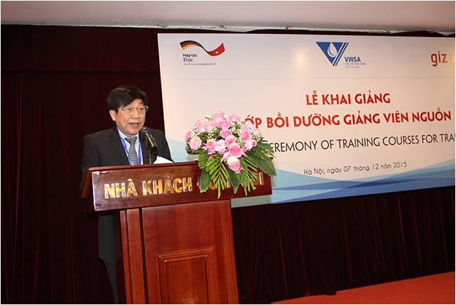 618/GIZ giúp đào tạo đội ngũ giảng viên nguồn cho ngành cấp thoát nước Việt Nam