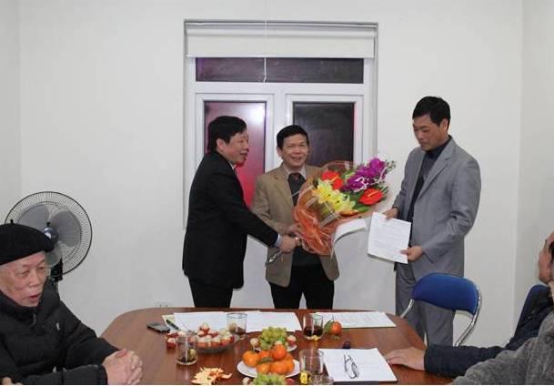 622/PGS.TS Trần Đức Hạ trở thành Viện trưởng Viên Nghiên cứu Cấp thoát nước và Môi trường