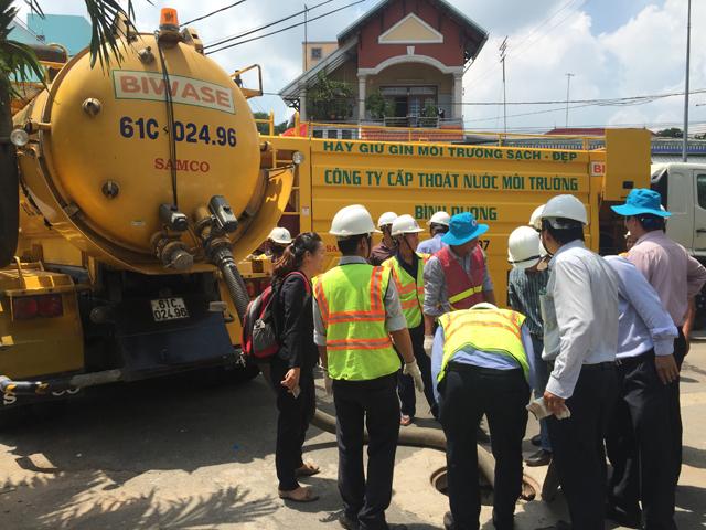 636/GIZ - VWSA tổ chức chuyên đề đào tạo Vận hành & bảo dưỡng mạng lưới thoát nước
