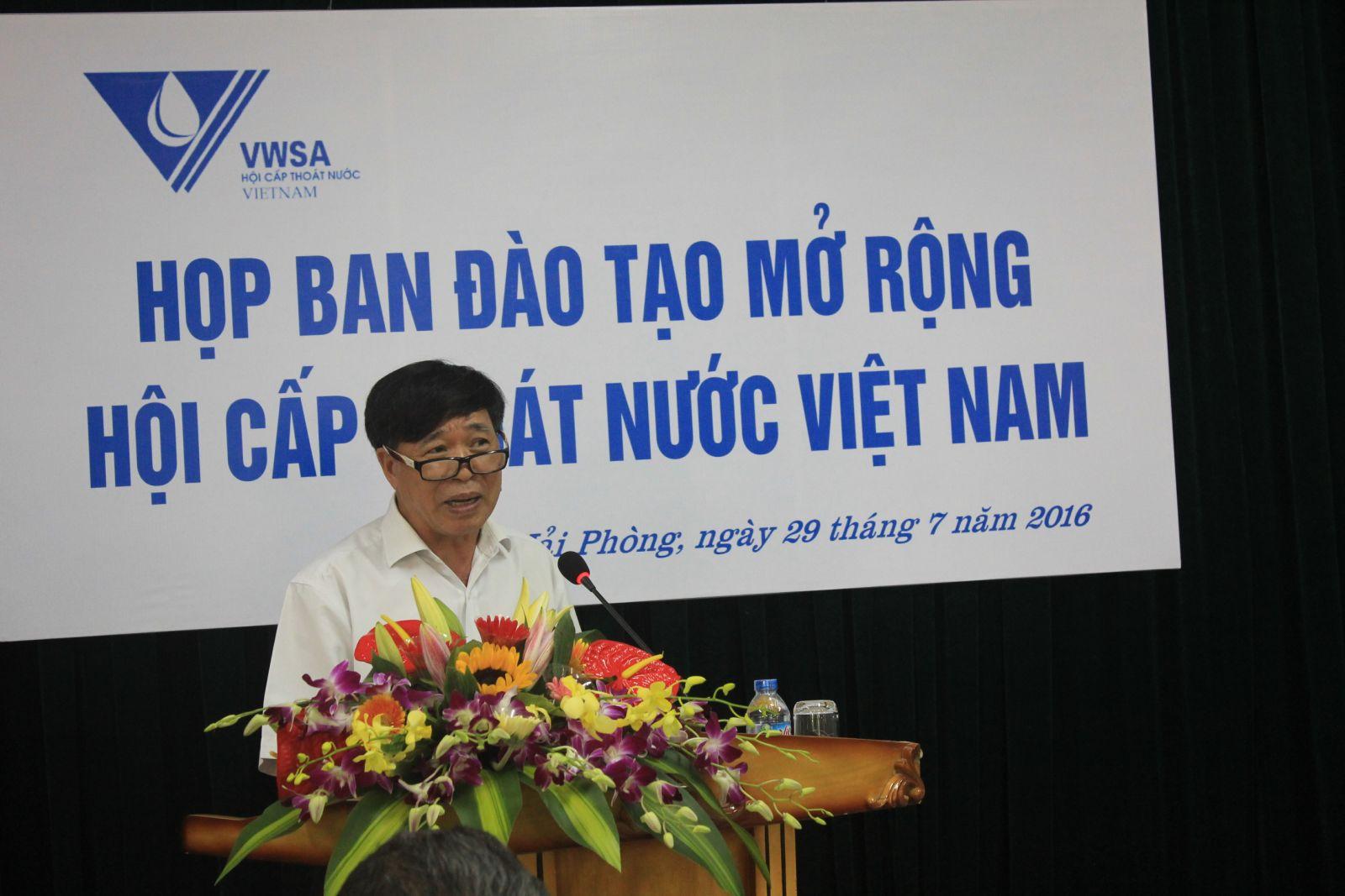 641/Ban Đào tạo Hội Cấp thoát Việt Nam họp tổng kết 7 tháng đầu năm 2016