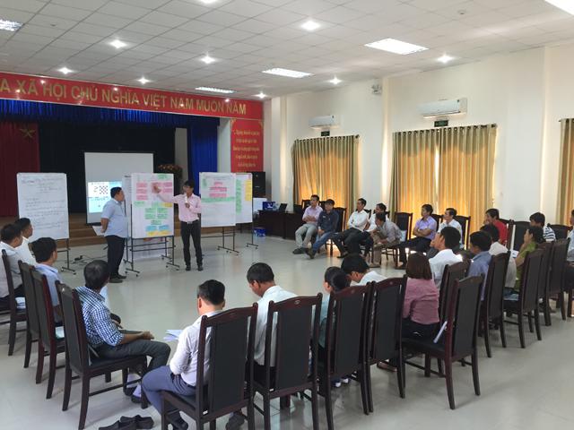 654/VWSA và GIZ phối hợp tổ chức Lớp bồi dưỡng Vận hành và bảo dưỡng các Nhà máy/ Trạm xử lý nước thải phi tập trung tại Đà Nẵng
