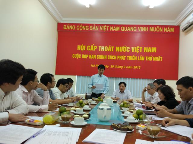 660/Ban Chính sách phát triển VWSA họp triển khai nhiệm vụ 3 tháng cuối năm 2016 và năm 2017