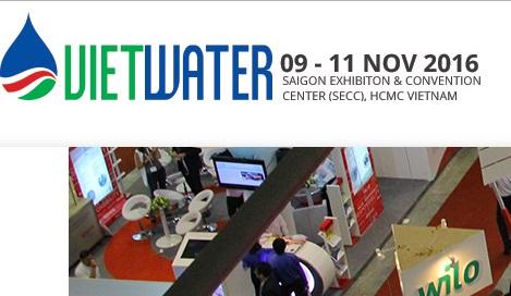 681/Hội thảo quốc tế: Các giải pháp phát triển Cấp thoát nước bền vững tại Vietwater 2016