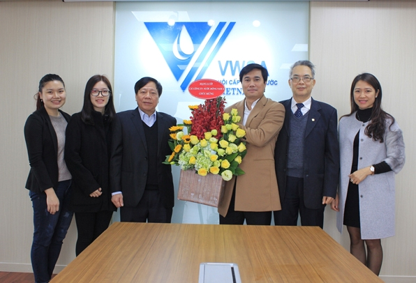 698/Vietnam Water Supply and Sewerage Association announces change of Office address