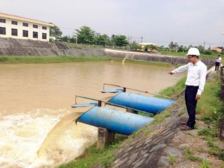 707/High salinity triggers water shortage in Da Nang
