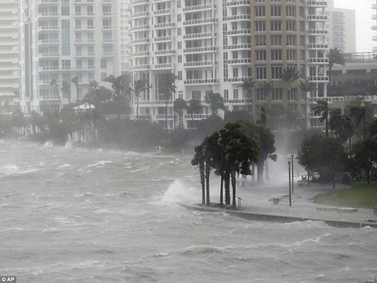 Sức mạnh hủy diệt của Bão tử thần Irma