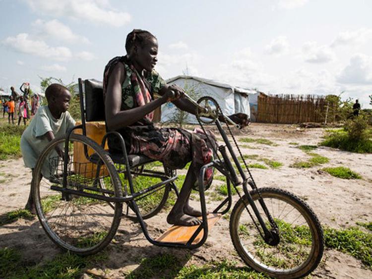 955/Nước sạch làm thay đổi cuộc sống ở một thị trấn của Nam Sudan