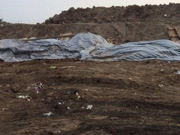 Truy tìm 'thủ phạm' chôn trộm chất thải nguy hại ở Hải Dương