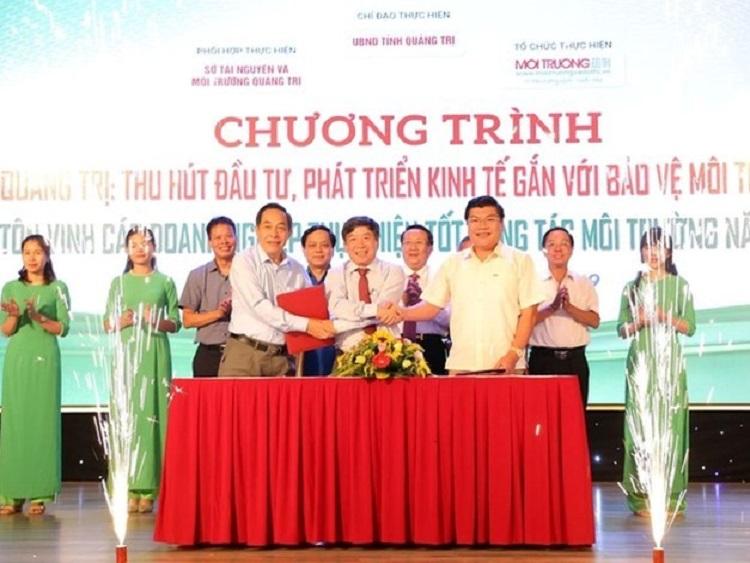 1631/Quảng Trị: Tôn vinh doanh nghiệp thực hiện tốt công tác môi trường