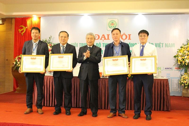 1542/Hiệp hội Môi trường Đô thị và Khu công nghiệp Việt Nam tổ chức Đại hội lần thứ V