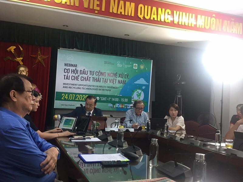 2102/Hội thảo Cơ hội đầu tư công nghệ xử lý tái chế chất thải tại VN