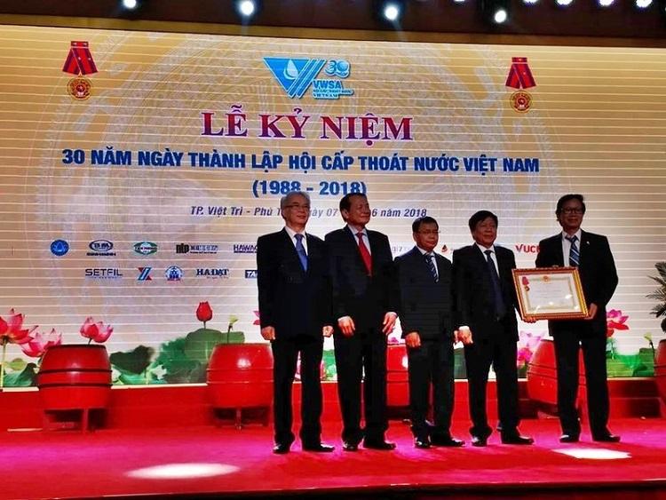 Phim tư liệu: Hội Cấp thoát nước Việt Nam: 30 năm Đoàn kết - Đổi mới - Phát triển và Hội nhập