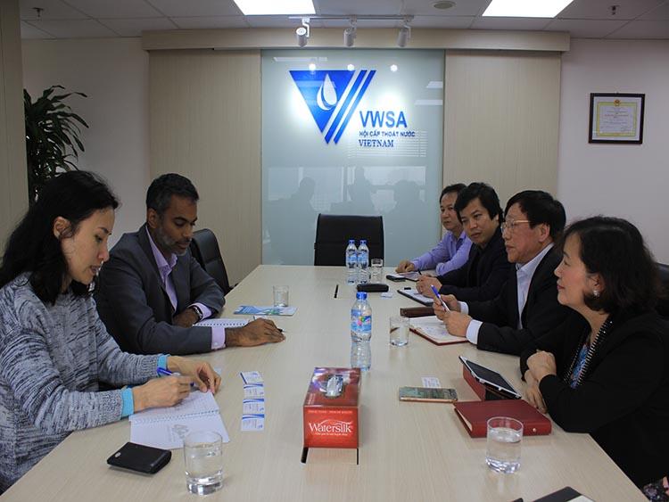 1070/VWSA tiếp đại diện Tổng Lãnh sự Canada tại Việt Nam