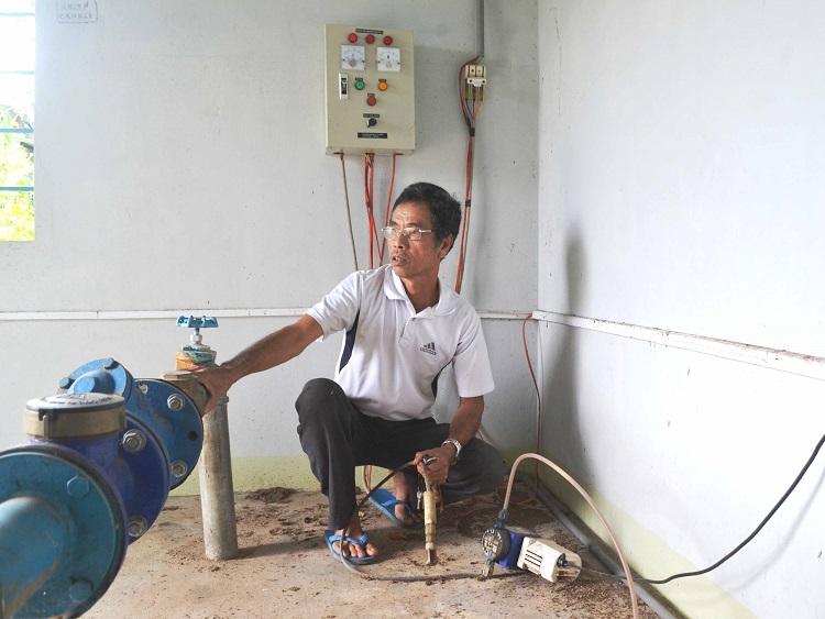 1039/Công trình nước sạch ngừng hoạt động vì thiếu kinh phí