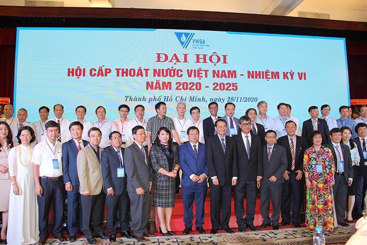 2218/Đại hội Hội Cấp thoát nước Việt Nam Nhiệm kỳ VI thành công tốt đẹp