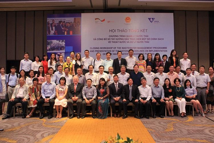 GIZ - Hơn một thập kỷ vì sự phát triển lĩnh vực Quản lý nước thải tại Việt Nam