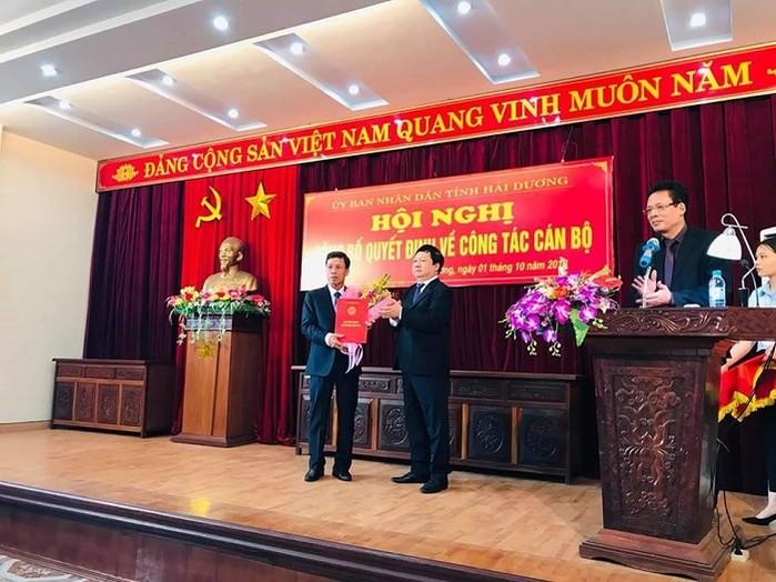 1382/Chủ tịch Cty nước sạch Hải Dương được bổ nhiệm Q.Giám đốc Sở XD