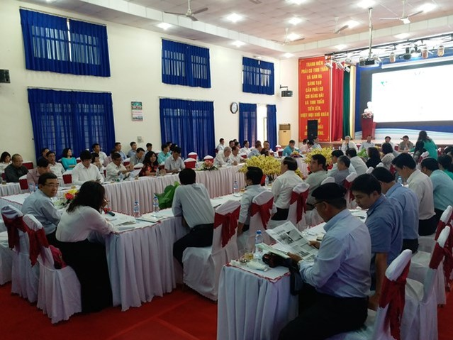 1588/The 5th Vietnam Water Supply and Sewerage Association's Executive Committee Conference of the 5th Term (2015-2020)