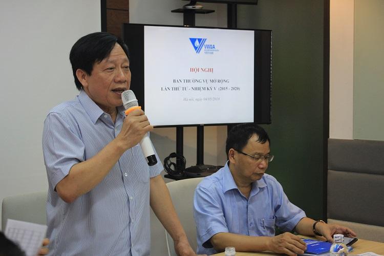 Hội Cấp thoát nước VN đẩy mạnh chuẩn bị Lễ kỷ niệm 30 năm thành lập