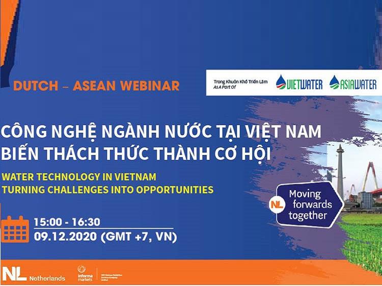 Hội thảo Công nghệ nước tại Việt Nam - Biến thách thức thành cơ hội