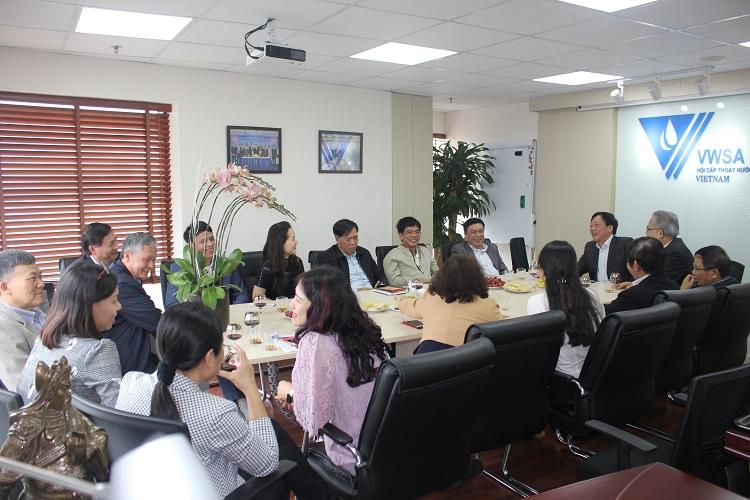 Hội CTN VN họp giao ban đầu năm mới