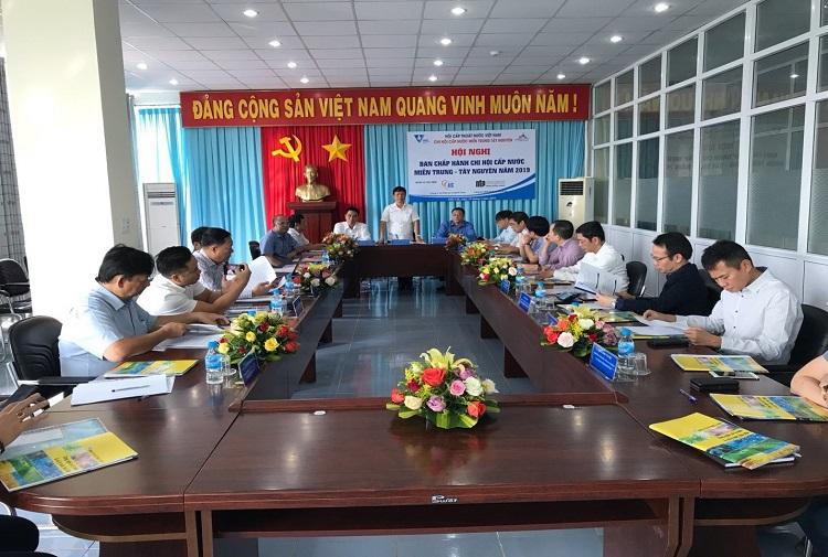 Hội nghị Ban chấp hành Chi hội cấp nước Miền Trung-Tây nguyên năm 2019 tại ĐăkLăk