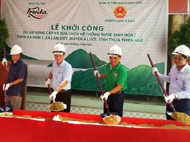 2000/Carlsberg Việt Nam tài trợ dự án nước sạch cho người dân vùng cao A Lưới