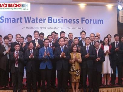 VWSA tham gia Diễn đàn Quản lý nước Thông Minh nhân Tuần lễ nước quốc tế 2018