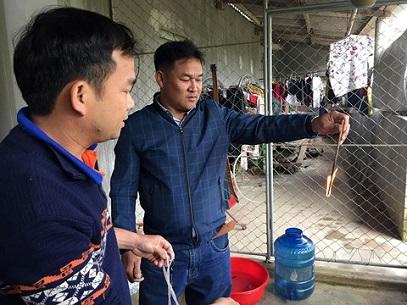 1138/Hàng loạt giếng nước nhiễm dầu ở Hà Tĩnh