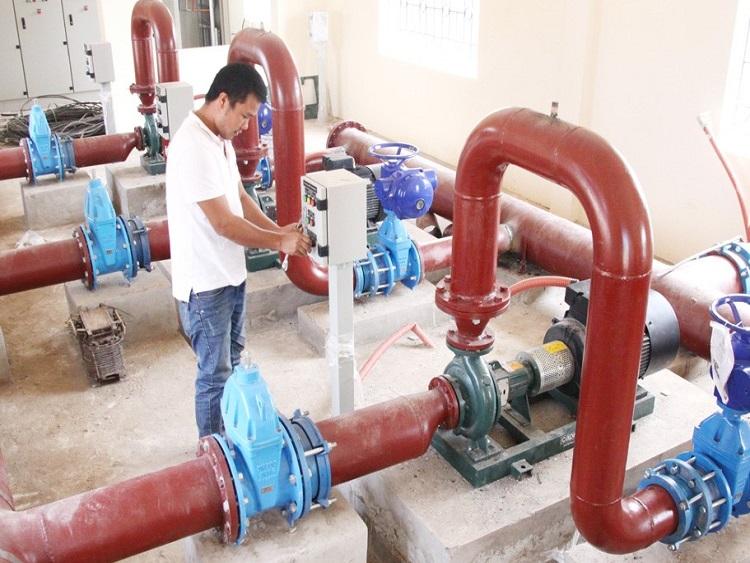 1041/Thêm 6 trạm cấp nước sạch tập trung đưa vào vận hành khai thác