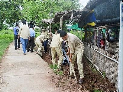 1011/Sóc Trăng: Phấn đấu nâng tỷ lệ hộ dân nông thôn sử dụng nước sạch