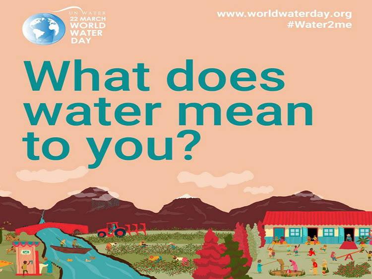 2240/Nước và Tôi là chủ đề của Ngày Nước thế giới 2021