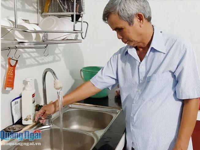 2126/Phát huy hiệu quả công trình cấp nước sạch ven biển: Khai thác gắn với bảo vệ nguồn nước