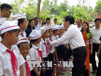 1147/Xây dựng hệ thống lọc nước uống đạt chuẩn cho hai trường học ở Quảng Nam